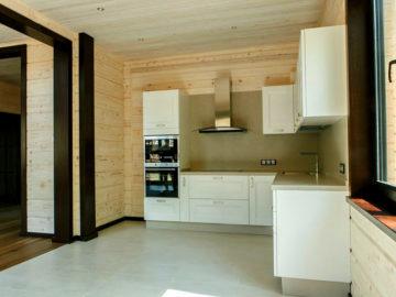 Отделка кухонной зоны