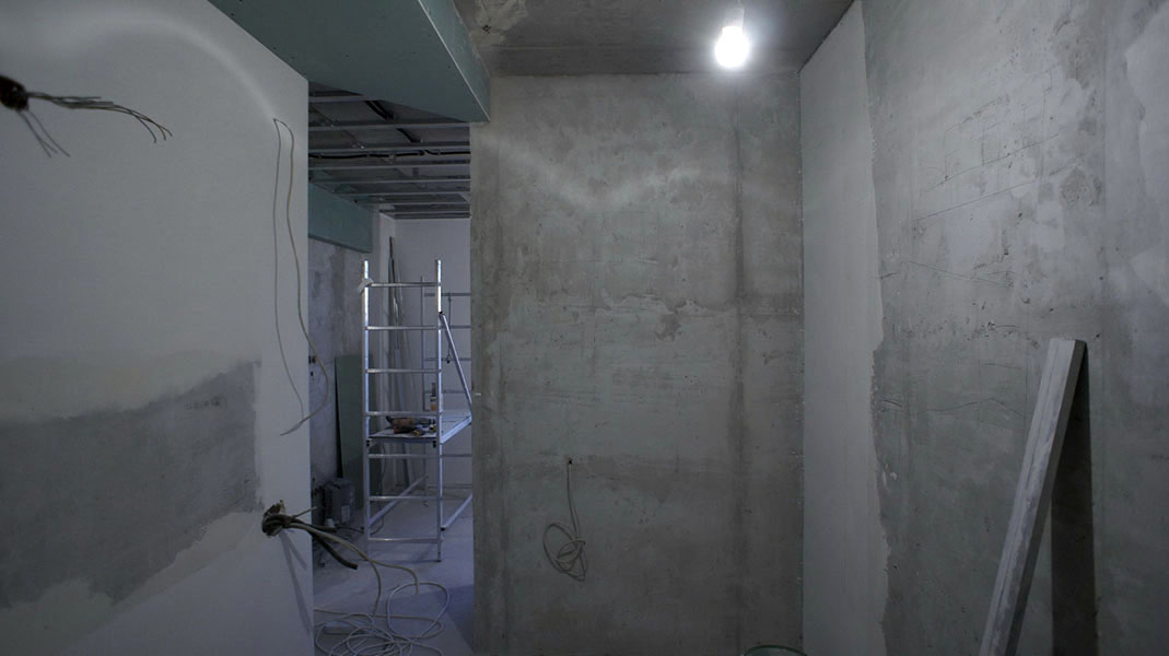 Черновая отделка квартиры на Савушкина
