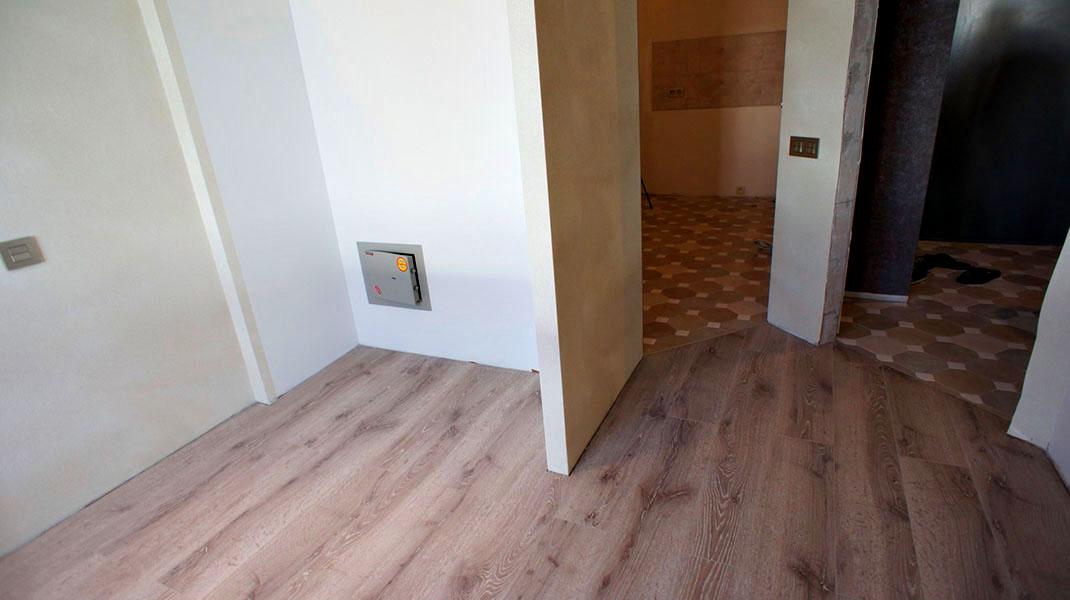 Отделка квартиры на улице Савушкина