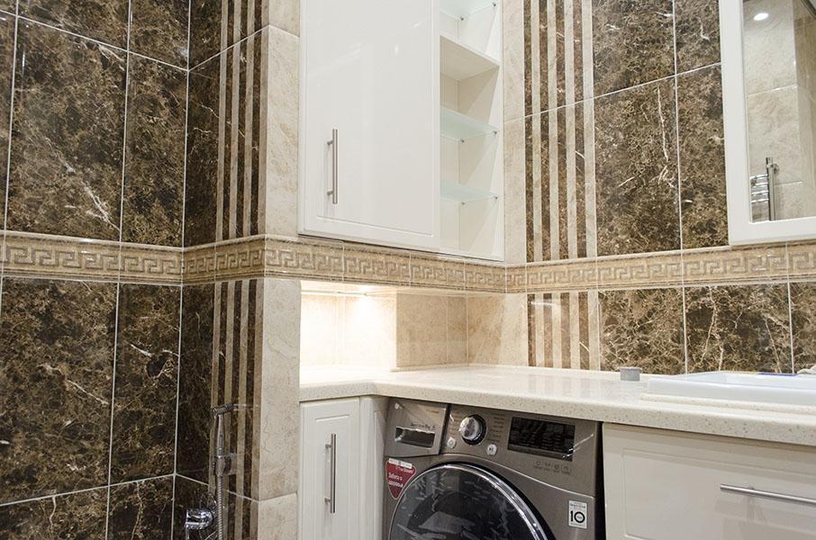 Отделка ванной комнаты в ЖК Московский квартал