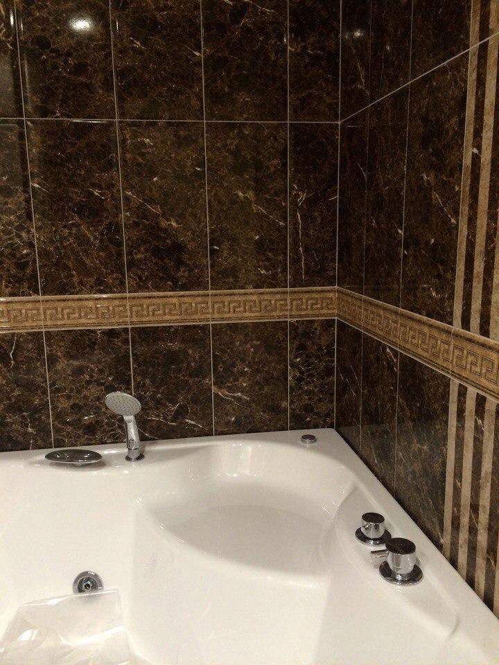 Отделка ванной комнаты: