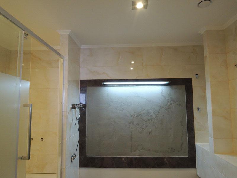 Отделка ванной комнаты в ЖК Балтийская Жемчужина